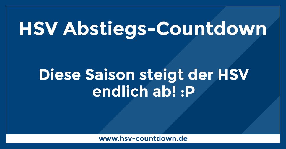 Hsv Abstiegs Countdown